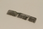 Comb purchased in Buchenwald