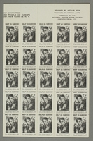 2017.227.46 right side Sheet of US poster stamps encouraging people to donate to a humanitarian organization  Click to enlarge