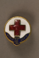 2017.242.2 front American Red Cross pin  Click to enlarge