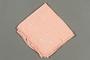 Embroiderd pink handkerchief
