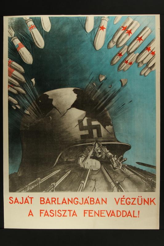 2015.562.39 front Sajat Barlangjaban Vegzunk a Fasiszta Fenevaddal!