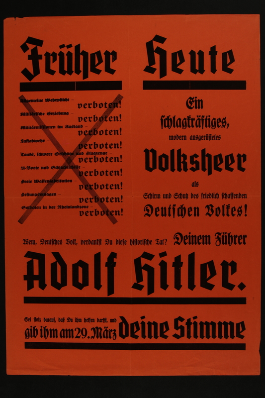 2015.562.41 front Früher Heute Poster