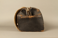 2017.541.4 right Zippered leather medical bag used by an Austrian Jewish physician  Click to enlarge