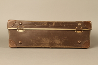 2017.541.5 back Small suitcase with a metal handle used by a Jewish Austrian physician  Click to enlarge