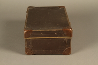 2017.541.5 right Small suitcase with a metal handle used by a Jewish Austrian physician  Click to enlarge
