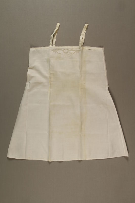 1992.115.2 front Slip worn by survivor of the Holocaust while in hiding