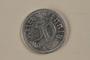 Nazi Germany, 50 reichspfennig coin found by an American soldier/liberator