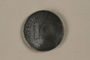 Nazi Germany, 10 reichspfennig coin found in a liberated camp by an American soldier