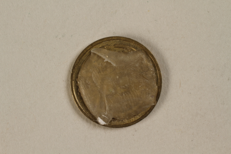 1992.142.3 back France, 50 centime coin