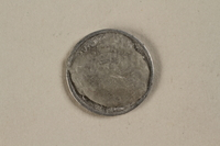 1992.142.4 back France, 50 centime coin  Click to enlarge