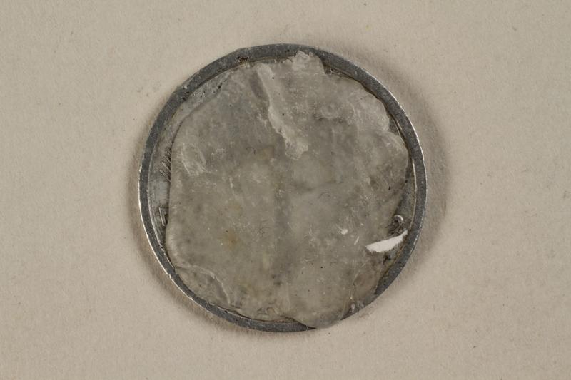 1992.142.5 back France, 1 franc coin