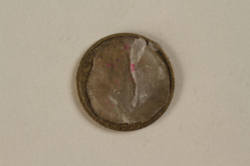 1992.142.7 back France, 50 centime coin