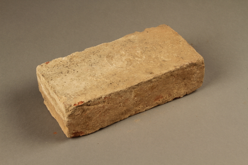 2017.441.2 top Brick manufactured by the Czeke brick factory in Kőszeg