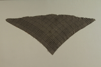 1992.150.1 front Scarf worn by female prisoner in Stuthoff concentration camp  Click to enlarge