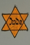 Star of David patch printed with Jude worn by a German Jewish woman