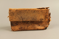 2018.63.2 front Leather clutch owned by a Polish Jewish woman  Click to enlarge