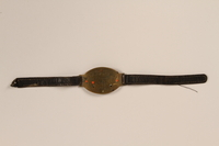 1992.160.8 front Identification bracelet  Click to enlarge