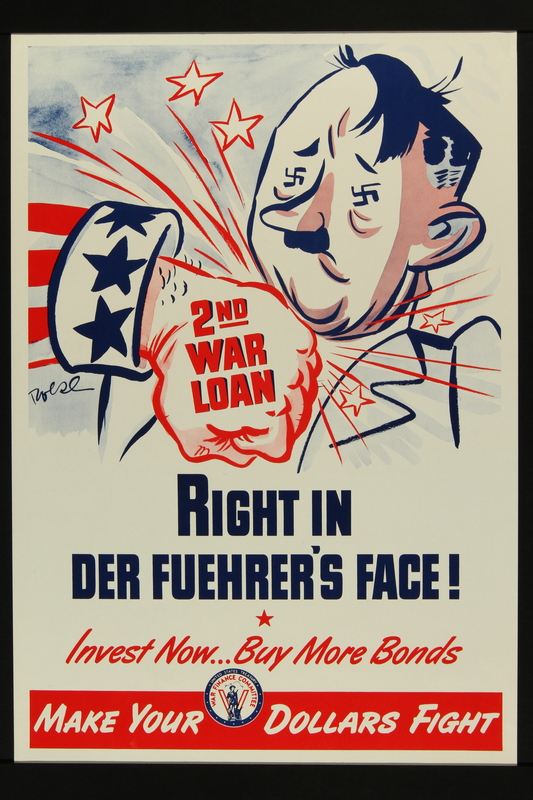 2017.595.3 front Poster encouraging the buying of war bonds