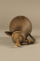 2017.609.5 top Small metal coffeepot used by a Yugoslavian family  Click to enlarge