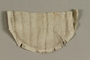 Detached handmade linen pocket