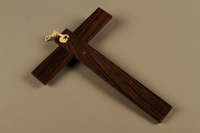 2018.426.3 back Wall crucifix owned by an American internee  Click to enlarge