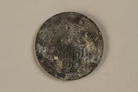 1992.179.4 front Łódź (Litzmannstadt) ghetto scrip, 10 mark coin  Click to enlarge