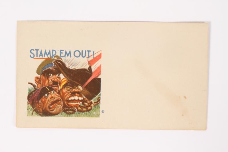 2015.224.1 front Anti-Axis propaganda envelope