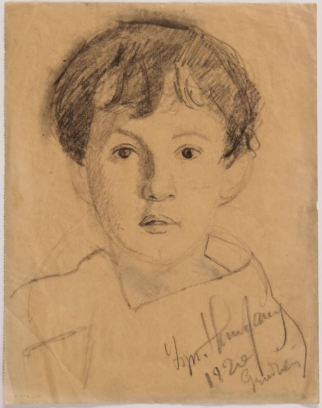 2015.239.3 front Prewar portrait of a Jewish Polish man