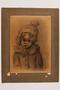 Portrait of a child survivor drawn postwar by a former Polish slave laborer