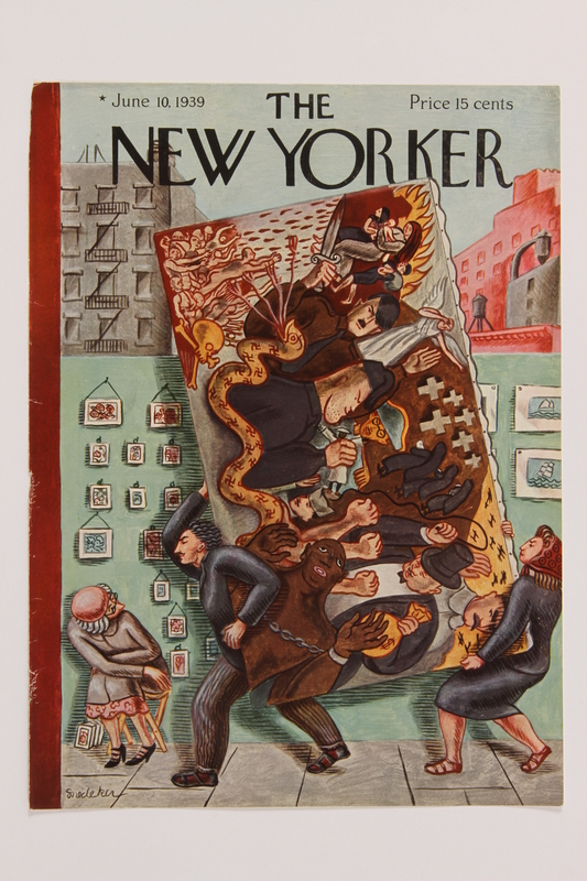 2014.495.2 front Cover of The New Yorker magazine