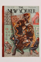2014.495.2 front Cover of The New Yorker magazine  Click to enlarge