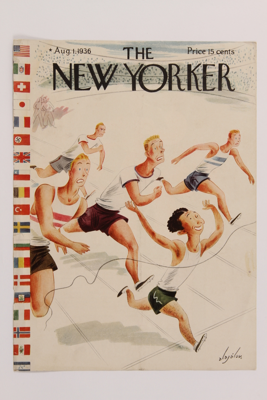 2014.495.1 front Cover of The New Yorker magazine