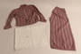 Pajama set owned by a Czech Jewish girl who escaped on a Kindertransport