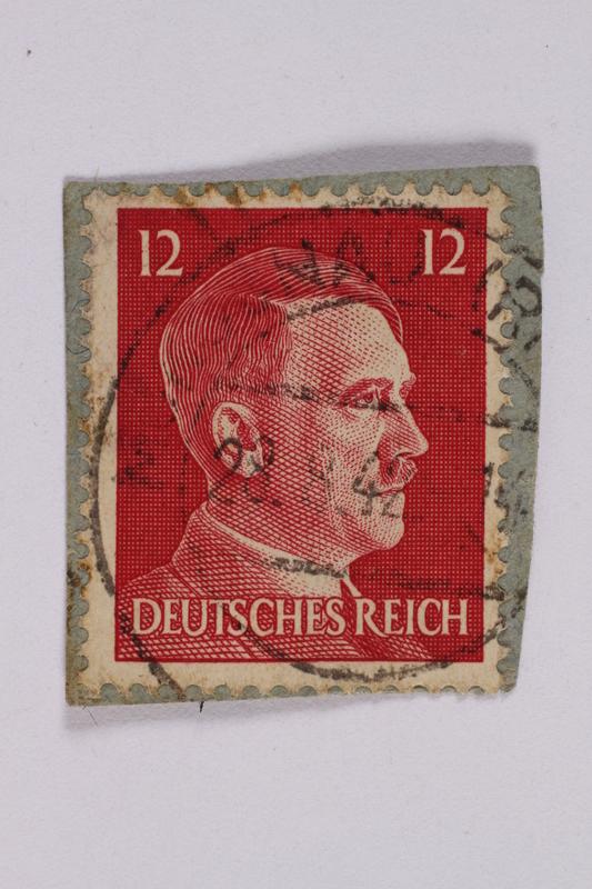 2014.480.140 front Deutsches Reich postage stamp