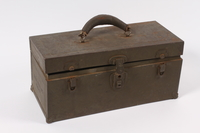 2014.498.3 a front Toolbox given to a Polish refugee in a DP camp vocational class  Click to enlarge
