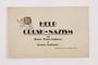 Legion of Judea postcard exhorting the public to crush Nazism