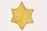 2015.472.1 front Star of David badge  Click to enlarge