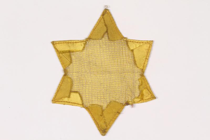 2015.472.1 back Star of David badge