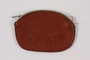 Leather coin purse made by a concentration camp survivor in Landsberg DP camp