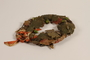 Oak leaf wreath separated into sections awarded prewar to a Jewish youth for swimming across the Rhine River