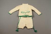 2018.126.21a-b back Child's lederhosen and cardigan sweater set  Click to enlarge