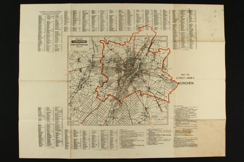 2018.64.2 side B Map of Munich