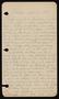 John Vincent Tillman papers