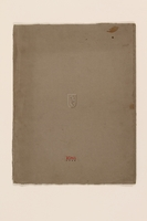 2012.471.169 closed Portfolio of 11 drawings of Roman buildings by a Jewish soldier, 2nd Polish Corps  Click to enlarge