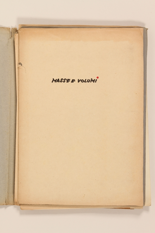 2012.471.173 open Portfolio of architectural studies of Greece by a Jewish soldier, 2nd Polish Corps