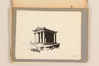 2012.471.173 other Portfolio of architectural studies of Greece by a Jewish soldier, 2nd Polish Corps  Click to enlarge