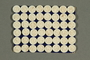 Card with 48 Dorset-style buttons owned by a Jewish Austrian refugee