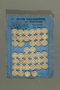 Card with 46 Dorset-style buttons owned by a Jewish Austrian refugee