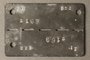 Prisoner ID tag issued to a Jewish American prisoner in Compiègne internment camp