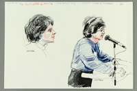 1992.21.62 front Courtroom drawing of the Klaus Barbie trial  Click to enlarge